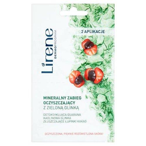 DR IRENA ERIS LIRENE- Mineralny Zabieg Oczyszczajacy z Zielona Glinka 2x6ml