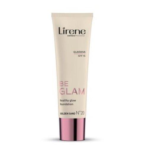 DR IRENA ERIS LIRENE- Be Glam SPF 15 Healthy Glow Foundation 20 Golden Sand 30ml