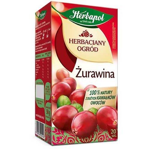 HERBAPOL Herbaciany Ogrod Zurawina Herabata 20 sasz