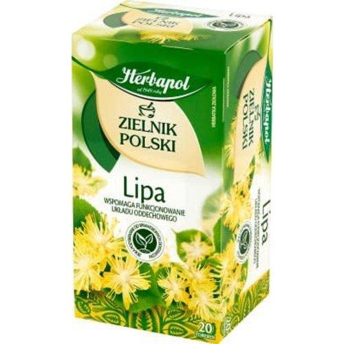 HERBAPOL Zielnik Polski Lipa Herbata 20 sasz