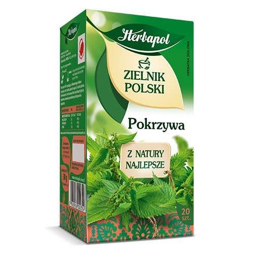 HERBAPOL Zielnik Polski Pokrzywa Herbata 20 sasz