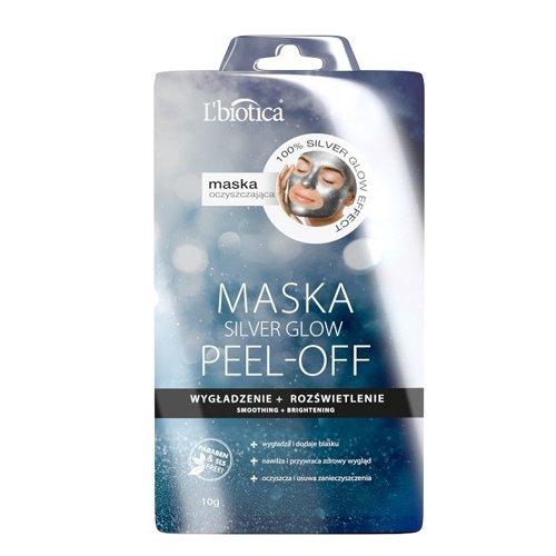 L'BIOTICA Maska Silver Glow Peel OFF 10G