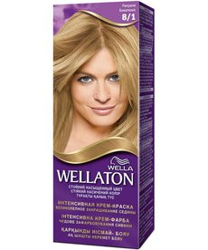 PROCTER&GAMBLE Wella Wellaton Krem Intensywnie Koloryzuacy 8/1 Jasny Popielaty Blond