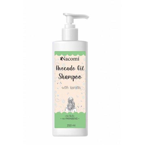 Nacomi Avocado Oil Shampoo Szampon Do Wlosow 250ml