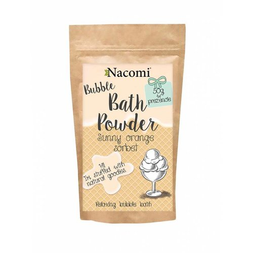 Nacomi Bubble Bath Powder Sunny Orange Sorbet 100g+50g