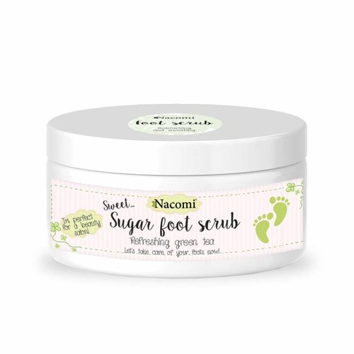 Nacomi Foot Scrub Green Tea 125 g