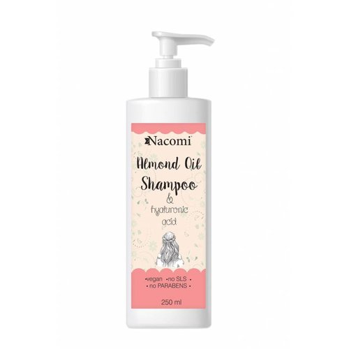 Nacomi Almond Oil Shampoo 250ml