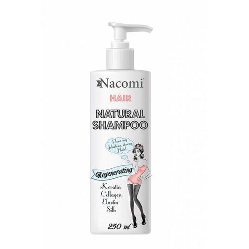 Nacomi Regenerating Natural Shampoo Szampon Odzywczo-Regenerujacy 250ml
