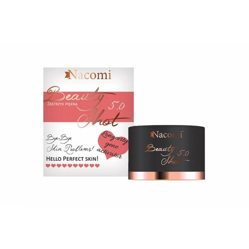 Nacomi Beauty Shot 5.0 Zastrzyk Piekna 50+ 30ml