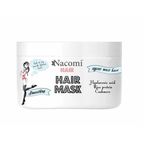 Nacomi Smoothing Hair Mask Wygladzajaco-Nawilzajaca Maska Do Wlosow 200ml