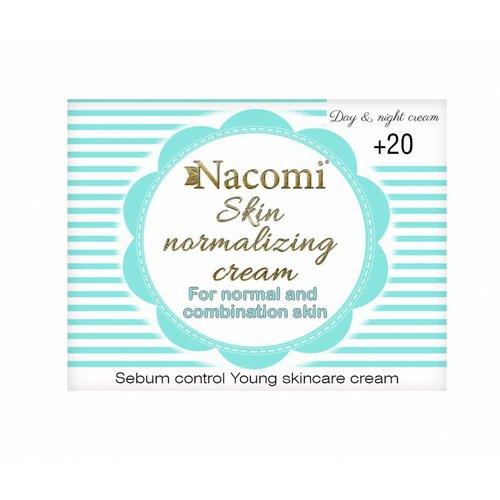 Nacomi Skin Normalizing Cream 20+ Day & Night Cream 50ml