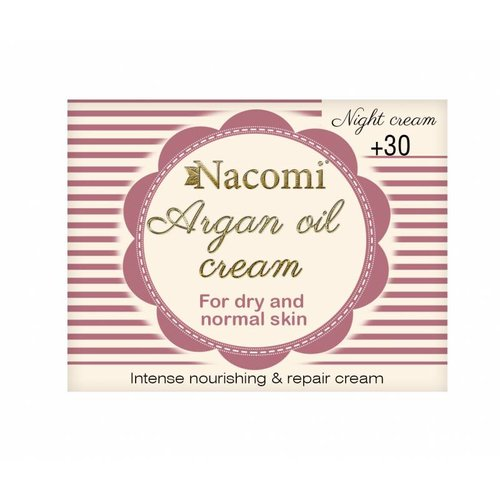 Nacomi Argan Oil 30+ Night Cream 50ml