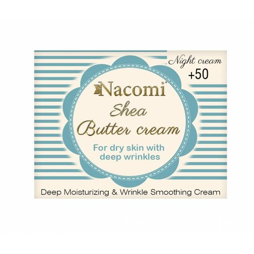Nacomi Shea Butter Cream 50+ Night Cream 50ml