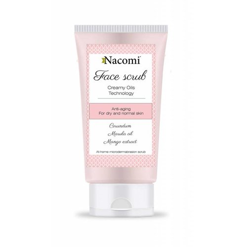 Nacomi Face Scrub For Dry And Normal Skin 85ml