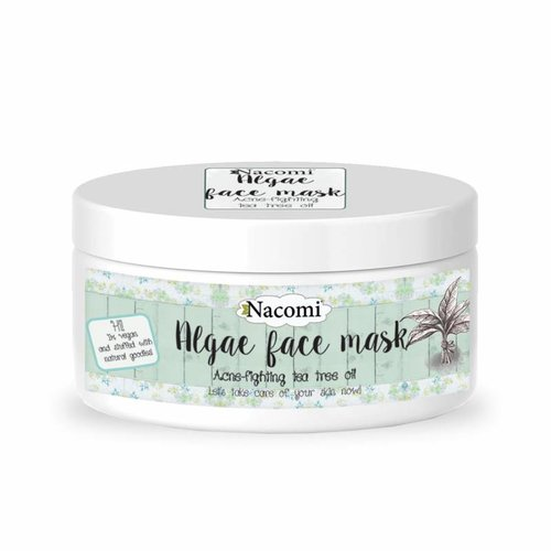 Nacomi Algae Face Mask Acne-Fighting Tea Tree Oil Maska Algowa 42g