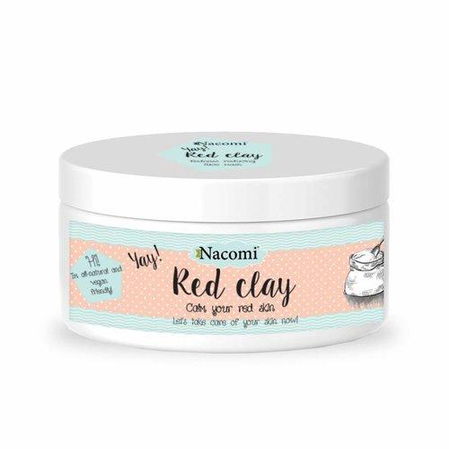Nacomi Red Clay Glinka Czerwona 100g