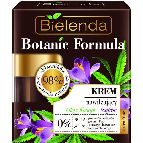 BIELENDA Botanic Formulas Krem Nawilzajacy Olej z Konopi + Szafran 50ml