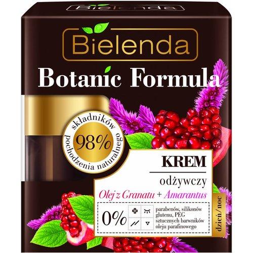 BIELENDA Botanic Formula Krem Odzywczy Do Twarzy Olej z Granatu + Amarantus 50ml
