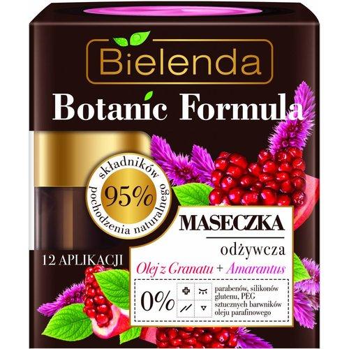BIELENDA Botanic Formula Maska Odzwycza Do Twarzy Olej z Granatu + Amarantus 50ml