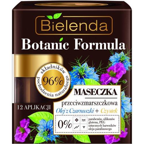 BIELENDA Botanic Formula Maseczka Przeciwzmarszczkowa Olejek z Czarnuszki + Czystek 50ml