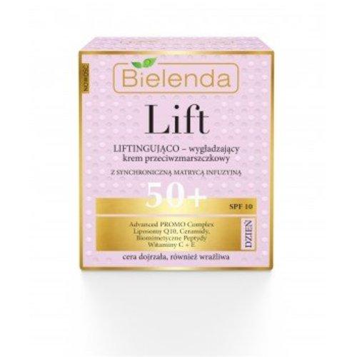 BIELENDA Lift Liftingujaco-Wygladzajacy Krem Przeciwzmarszczkowy 50+ Na Dzien 50ml