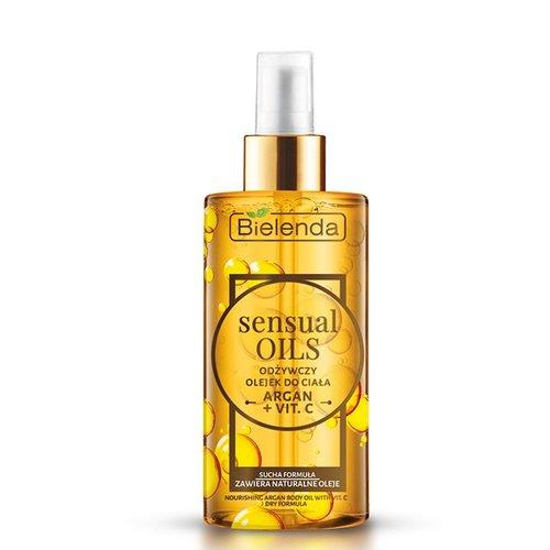 BIELENDA Sensual Oils Odzywczy Olejek Do Ciala Argan + Vit. C 150ml