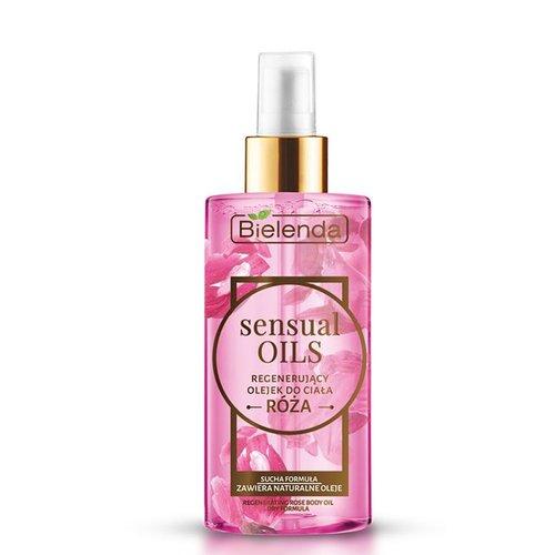 BIELENDA Sensual Oils Regenerujacy Olejek Do Ciala Roza 150ml
