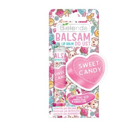 BIELENDA Balsam Do Ust Sweet Candy 10g
