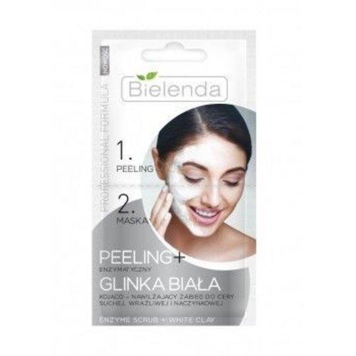 BIELENDA Peeling Enzymatyczny + Glinka Biala 2x5g