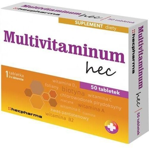 HECPHARMA Multivitaminum Hec 50 tabl
