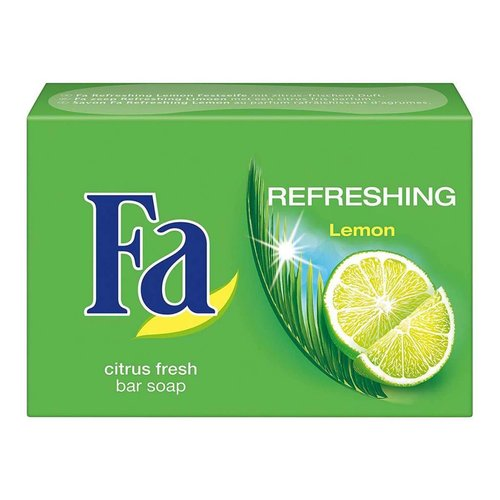 SCHWARZKOPF & HENKEL FA- Refreshing Lemon Bar Soap 100g