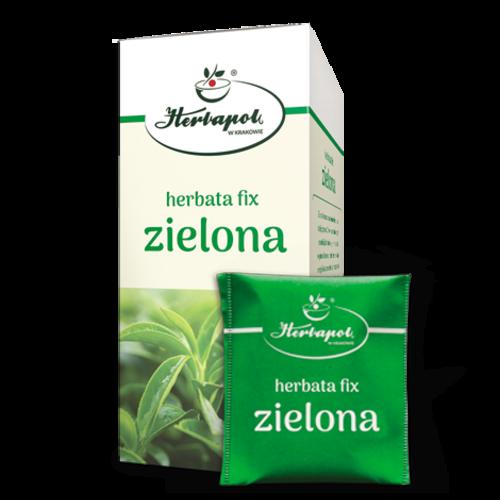 HERBAPOL Herbata Fix Zielona 20 sasz