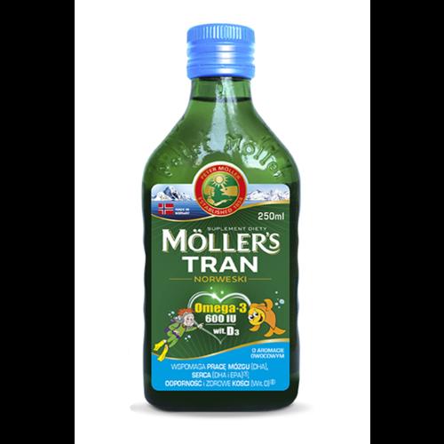 ORKLA MOLLER'S Tran Norweski o Aromacie Owocowym 250ml