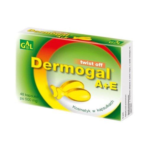 GAL Dermogal  A+E- Kosmetyk Do Pielegnacji Skory Wrazliwej 48 kaps