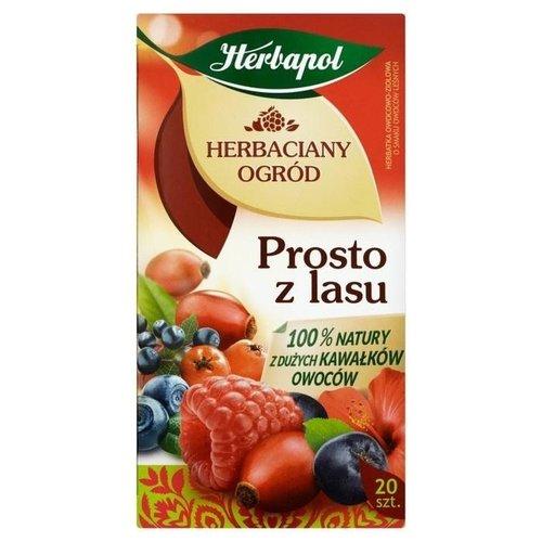 HERBAPOL Herbapol Herbaciany Ogrod Prosto z Lasu Herbata 20szt