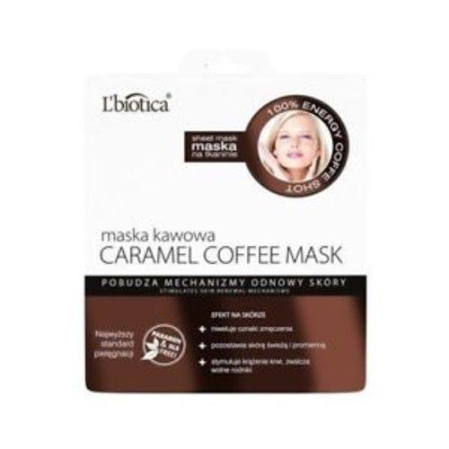 L'BIOTICA Maska Kawowa Carmel Coffee Mask 23 ml