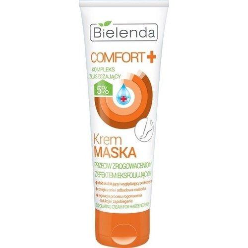 BIELENDA Comfort Krem Maska Przeciw Zrogowaceniom Stop 100g