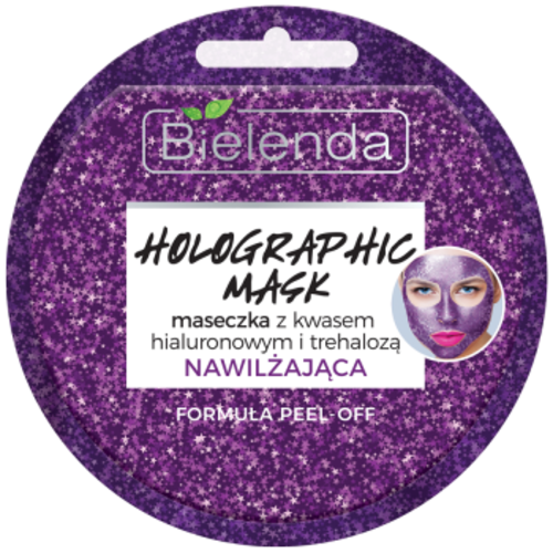 BIELENDA Holographic Mask Peel Off Maseczka Nawilzajaca 8g