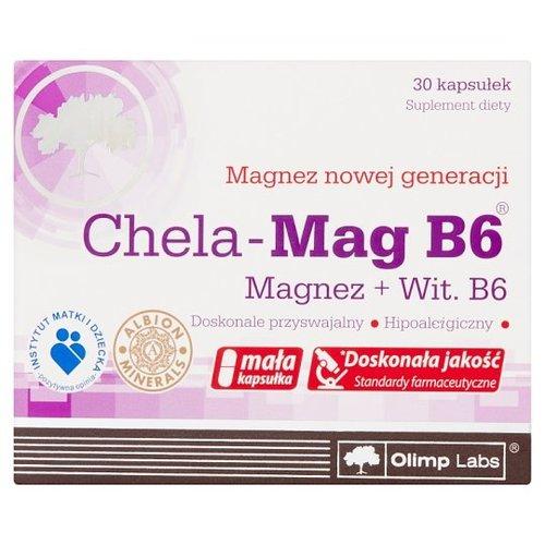 OLIMP LABS Chela-Mag B6 Magnez+Wit B6  30 Kap