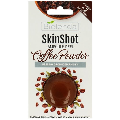 BIELENDA Skin Shot Ampoule Peel Coffee Powder Peeling Drobnoziarnisty 8g