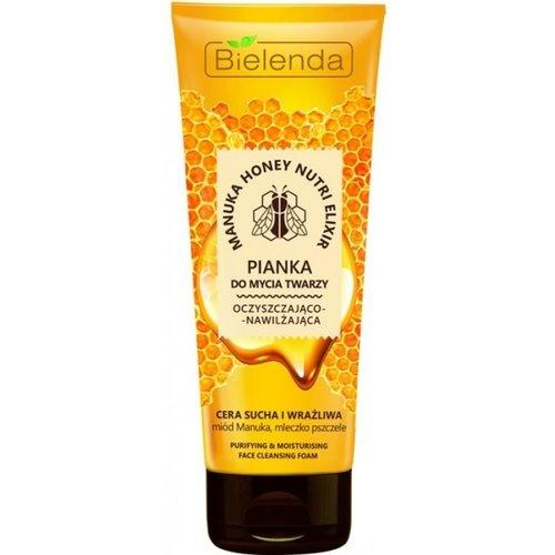 BIELENDA Manuka Honey Nutri elixir Pianka do Mycia Twarzy 175G