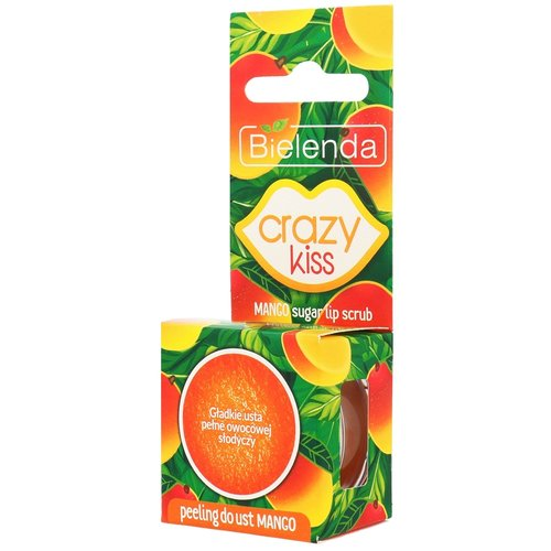 BIELENDA Crazy Kiss Peeling do ust Mango 15g