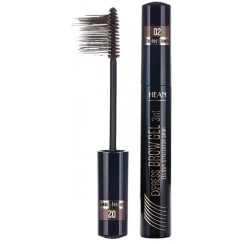 HEAN Express Brow Gel 3in1 Żelowy Stylizator Brwi 13ml