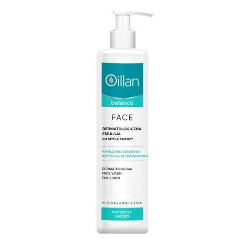 OCEANIC Oillan Balance Dermatologiczna Emulsja Do Mycia Twarzy 250 ml
