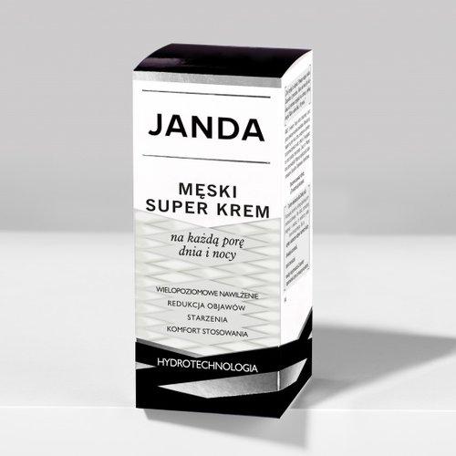 KRYSTYNA JANDA Męski Super Krem Na Kazda Pore Dnia i Nocy 50ml
