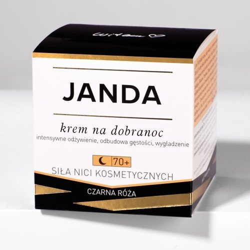 KRYSTYNA JANDA Krem na dobranoc 70+  Czarna Roza 50ml