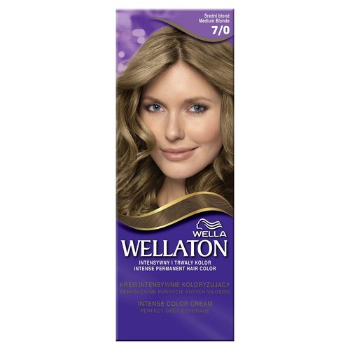 WELLA Wellaton Krem Koloryzujacy Sredni Blond 7/0