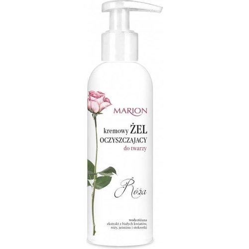 MARION Róża Kremowy Żel Oczyszczający Do Twarzy 150ml
