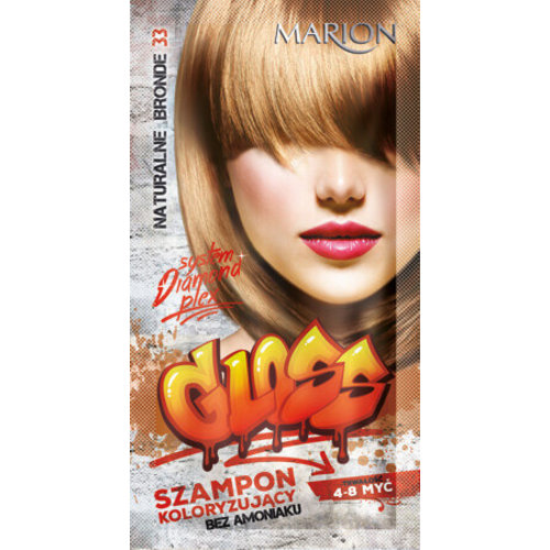 MARION Marion Gloss Szampon Koloryzujacy Bez Amoniaku 33 Naturalne Blonde 40ml