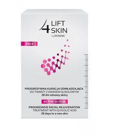 OCEANIC Lift 4 Skin Kuracja Odmładzająca z Kwasem Glikolowym Na 28 dni